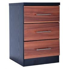Wyoming 3 Drawer Bedside Cabinet