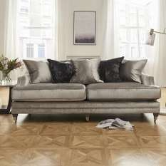 Fabric Sofas In Velvet & Linen