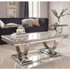 Marble & Stone Coffee Tables For Sale