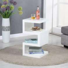 High Gloss Side Lamp Tables Uk