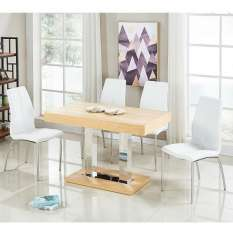 Our modern and stylish 4 seater wooden dining table sets are perfect for any dining room or kitchen
