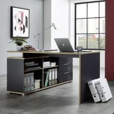 Explore corner computer desks & tables with storage to suit your home office
