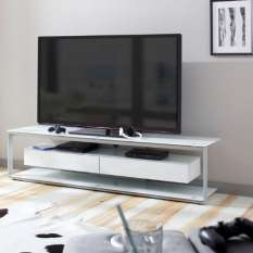 Get high-quality clear glass TV stands, units and cabinets at affordable price