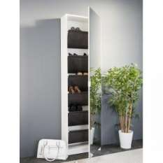 Glass & Mirror Shoe Storage Cabinets & units