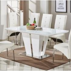 High Gloss Dining Tables, Gloss Dining Room Table, Gloss Extending Dining  Table