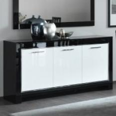 high gloss sideboard with led lights, grey high gloss sideboard ,  white gloss