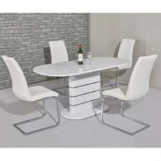high gloss dining table sets all