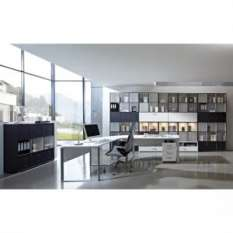 Shop home and office furniture sets with storage including desks and cabinets