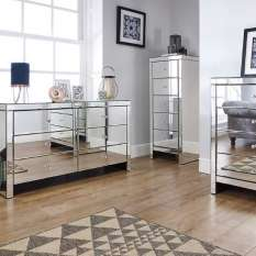 Find the best mirrored bedroom furniture and bedside tables for your home