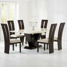 expensive dining table and 6 Chairs sets UK