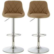 Buy 2 bar stools under £250 for appealing seating addition to your room