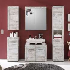 Declutter your bathroom with beautiful and stylish storage units and cabinets