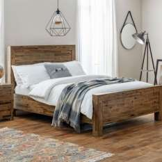 Our gorgeous wooden beds and frames with storage come in walnut, pine & oak wood