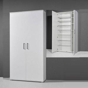 Scarpa White High Gloss Shoe Cupboard
