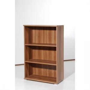 Space Walnut 3 Tier Shelving Unit