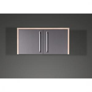 Duo Anthracite 2 door Office Cabinet