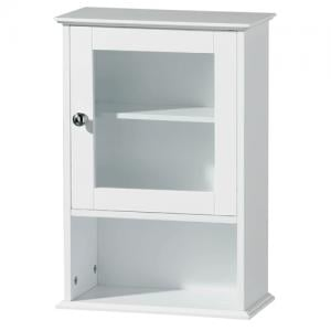 Wall Cabinet White Wood
