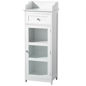 Floor Standing Cabinet In White