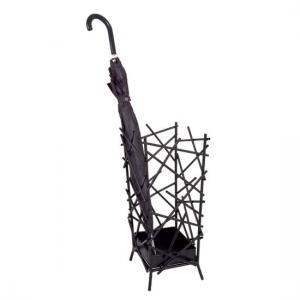 Mikado Stylish Anthrazit Finish Umbrella Stand