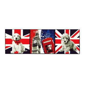 London Icons Lacquered Print
