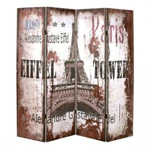 Alexandre Contemporary Room Divider In Eiffel Tower Design