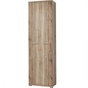 Elina Wardrobe in Sanremo Oak With 2 Doors