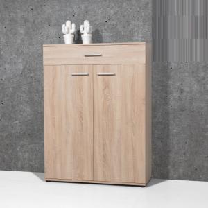 Stewart Shoe Cabinet In Sonoma Oak With 2 Doors