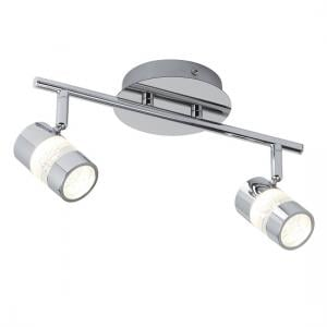 Bubbles Chrome Spotlight Bar With Two LED