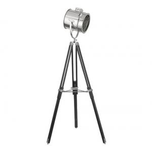 Stylish Stage Light Chrome Floor Lamp