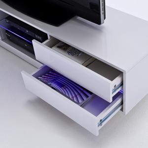 Sienna TV Stand Unit In High Gloss With Multi Led Lights_6