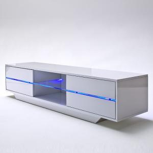 Sienna TV Stand Unit In High Gloss With Multi Led Lights_7