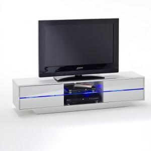 Sienna TV Stand Unit In High Gloss With Multi Led Lights_3