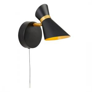 Diablo Led Spotlight In Matt Black And Gold Finish