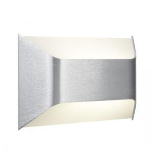 Frosted Glass Aluminium Led Wall Bracket