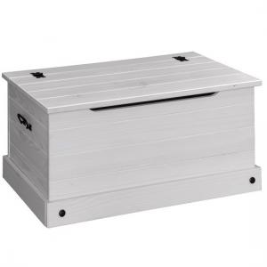 Coroner Blanket Box In White Washed With Storage_1