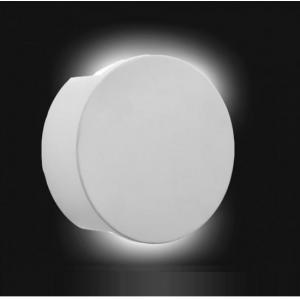 White Led Plaster Round Light Which Is Paintable
