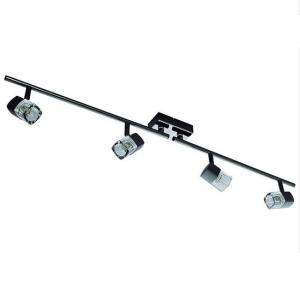 Blocs Chrome Four Light Split Bar Spotlight In Ice Cube Shape