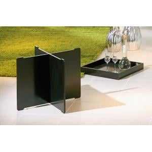 Moscow Side Table And Serving Tray In Black_3