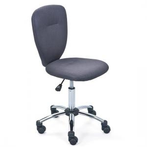 Pezzi Childrens Office Swivel Chair In Grey