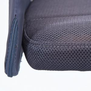 Bonnie Children Office Chair In Grey PU With Mesh Back_6