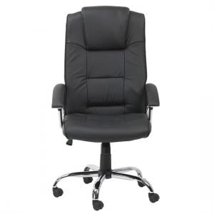 Hoaxing Office Executive Chair In Black Finish