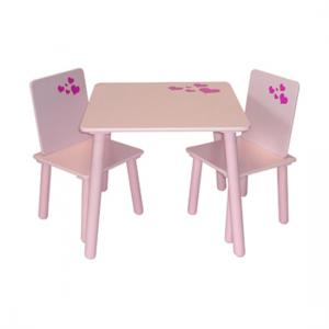 Amour Table And 2 Chairs