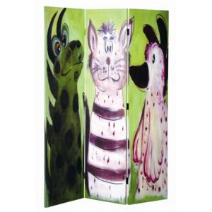 Animal Room Divider In Canvas Print