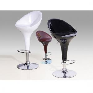 Bar Stool Chrome Model In A Pair