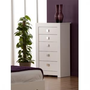 Bari 5 Drawer Tall Chest