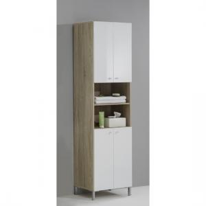 Bilbao6 Freestanding Wide Bathroom Cupboard
