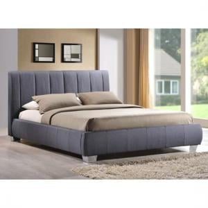 Braunston Grey Fabric Finish Double Bed