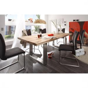 Capello 8 Seater Dining Table In 220cm With Pavo Dining Chairs