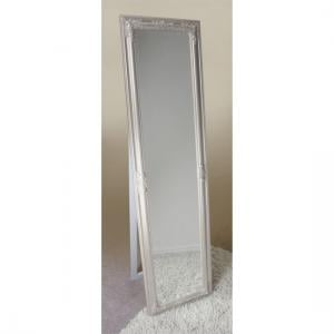 Rocco Cheval Floral Champagne Frame Freestanding Mirror