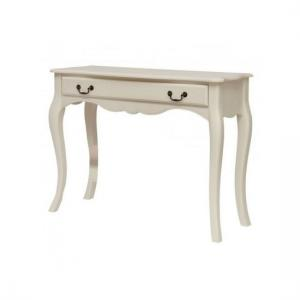 Chanty Off White Finish Dressing Table With 1 Drawer